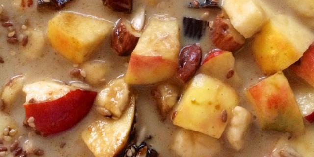Apple Banana Cinnamon Cereal