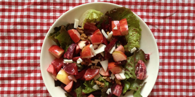 Beet Apple Mint Salad