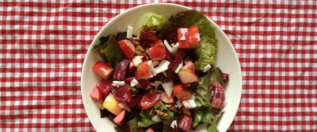Recipe: Beet Apple Mint Salad