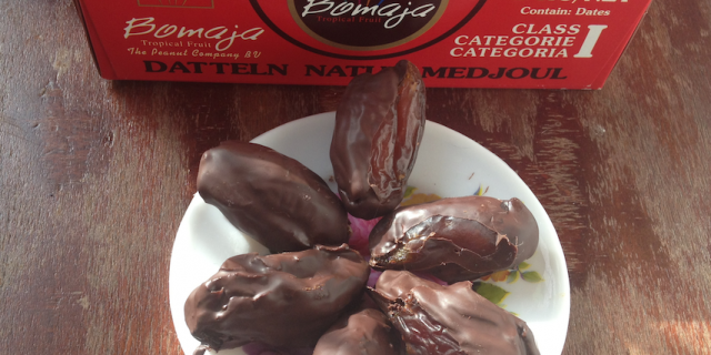 Chocolate Almond Cinnamon Dates