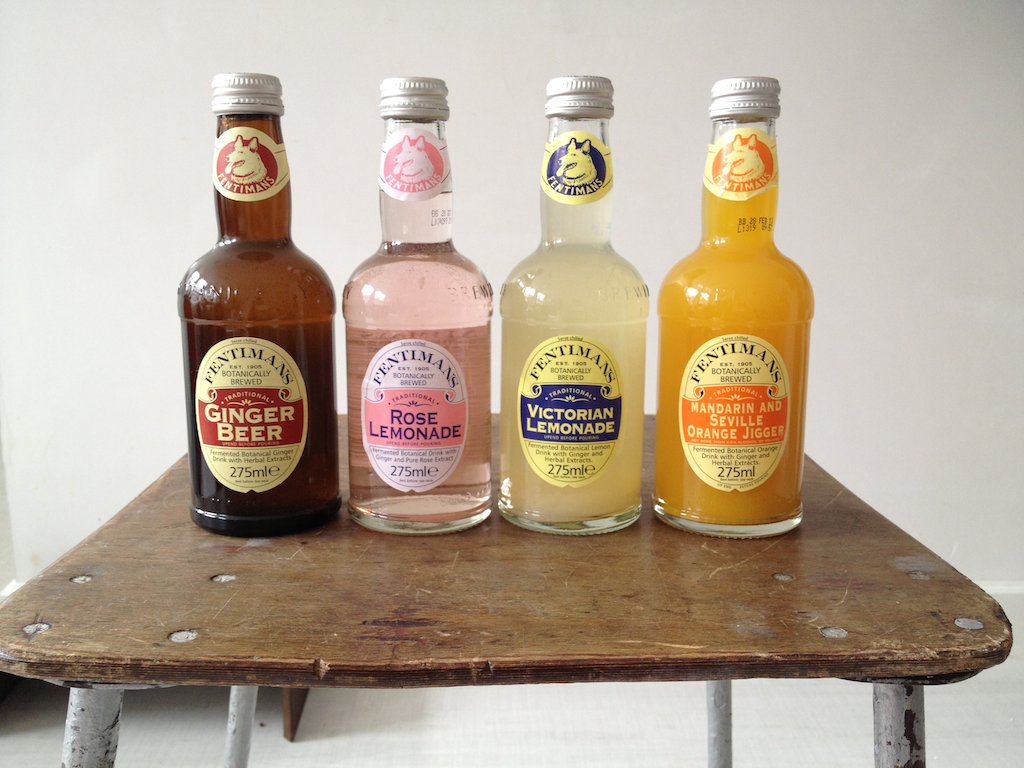 Fentiman's lemonades and cocktail mixes