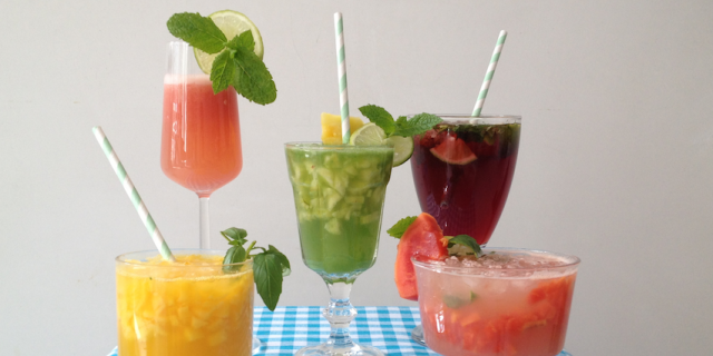 Healthy and delicious mocktail recipes