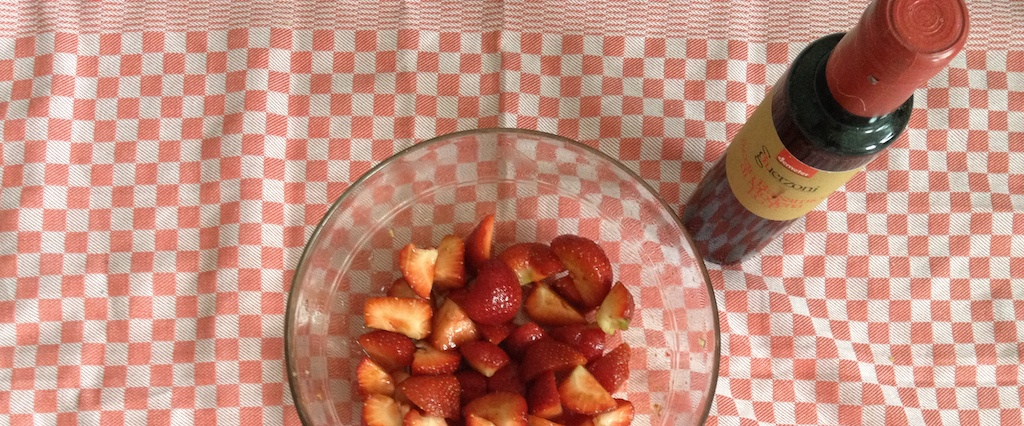 Macerated strawberries