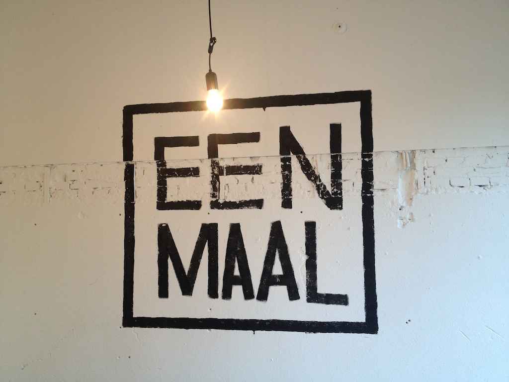 Pop-up restaurant EENMAAL