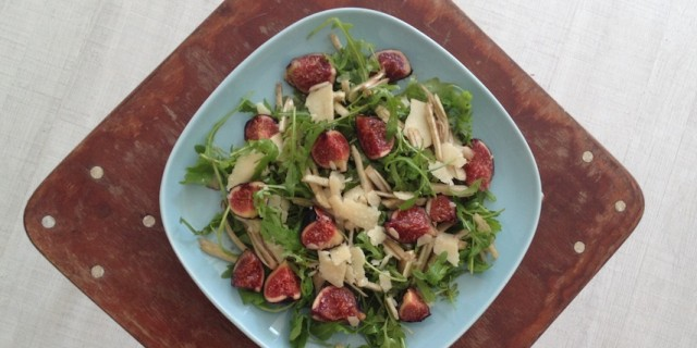 Fig and Fennel Rocket Salad