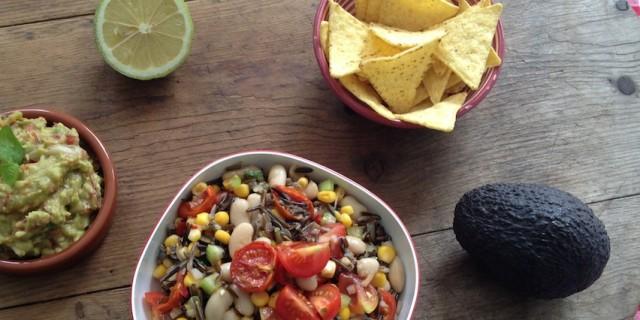 Cannellini Bean Wild Rice Salad