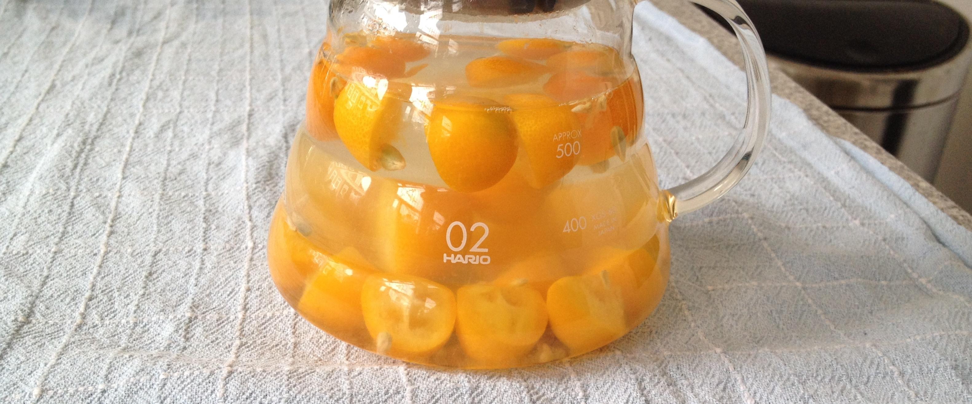 Kumquat Tea
