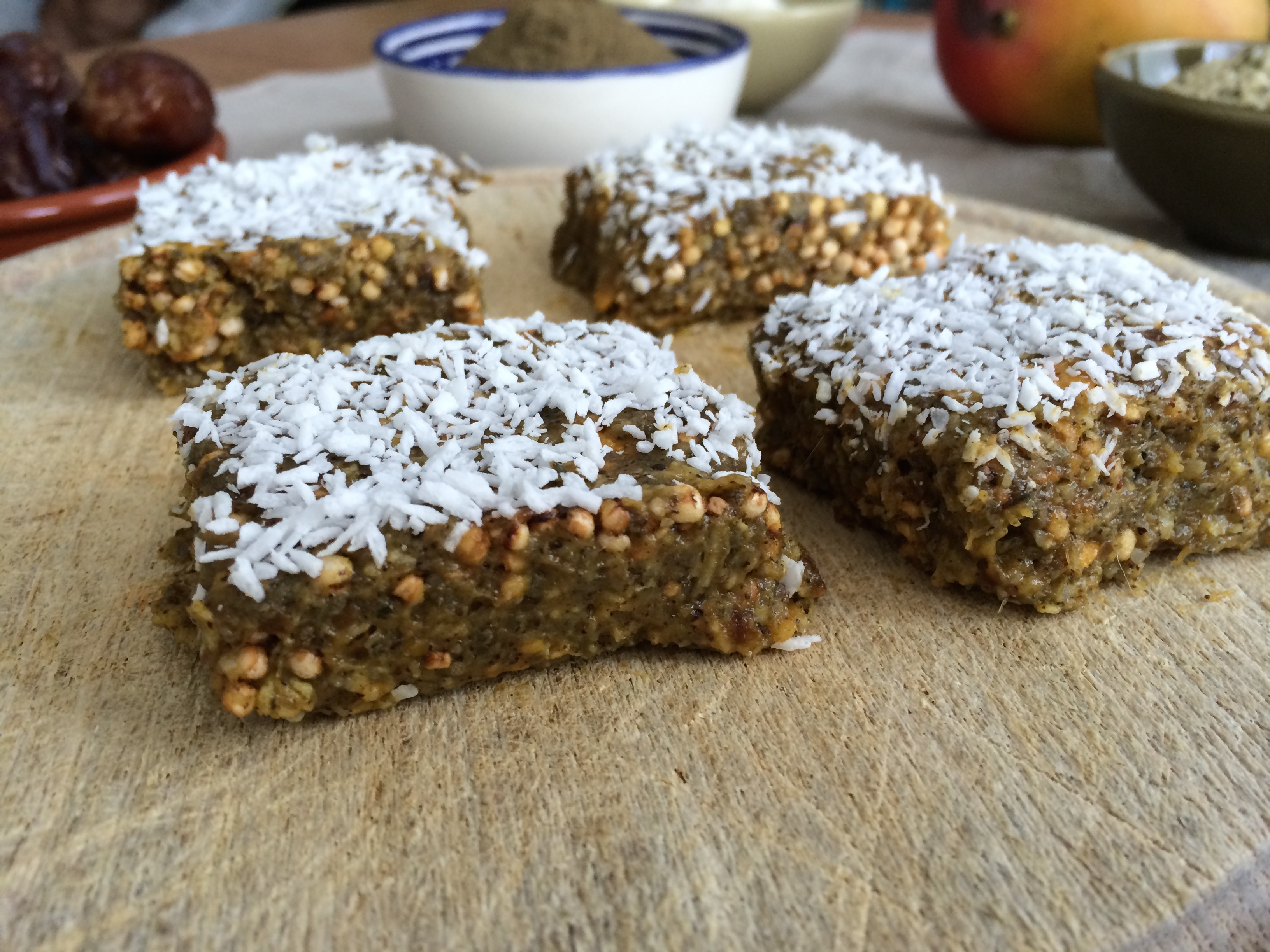 Mango Hemp Protein Bars