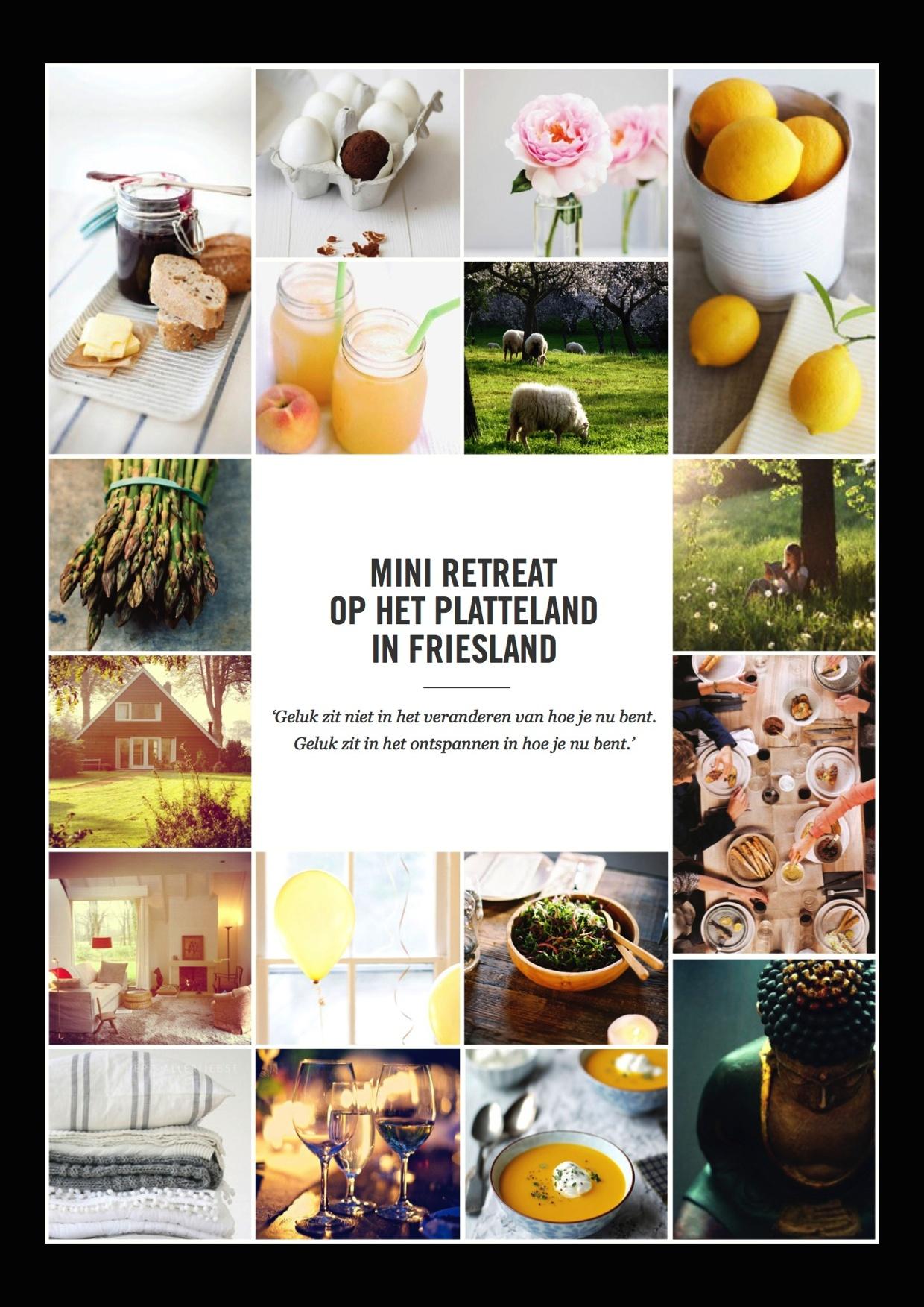 Mini Weekend Retreat In Friesland