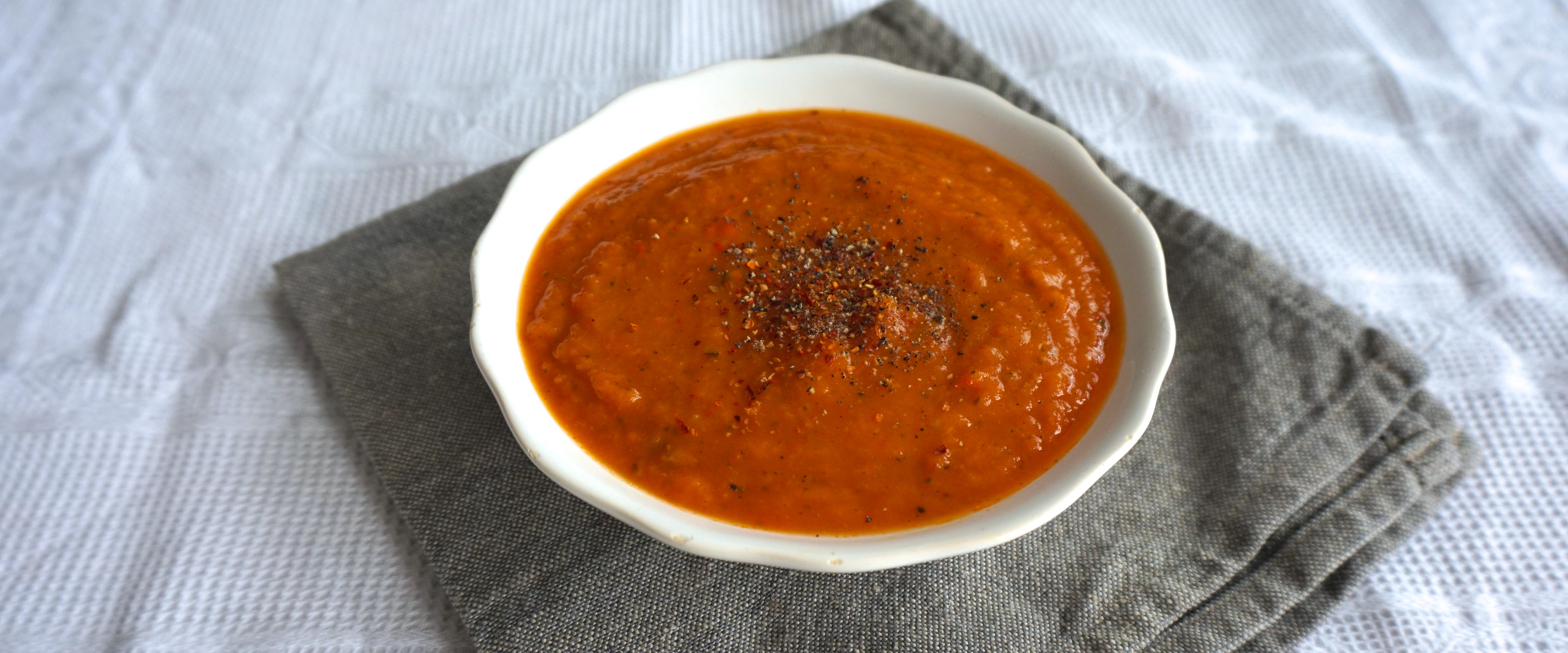 Spicy Sweet Potato Curry Soup