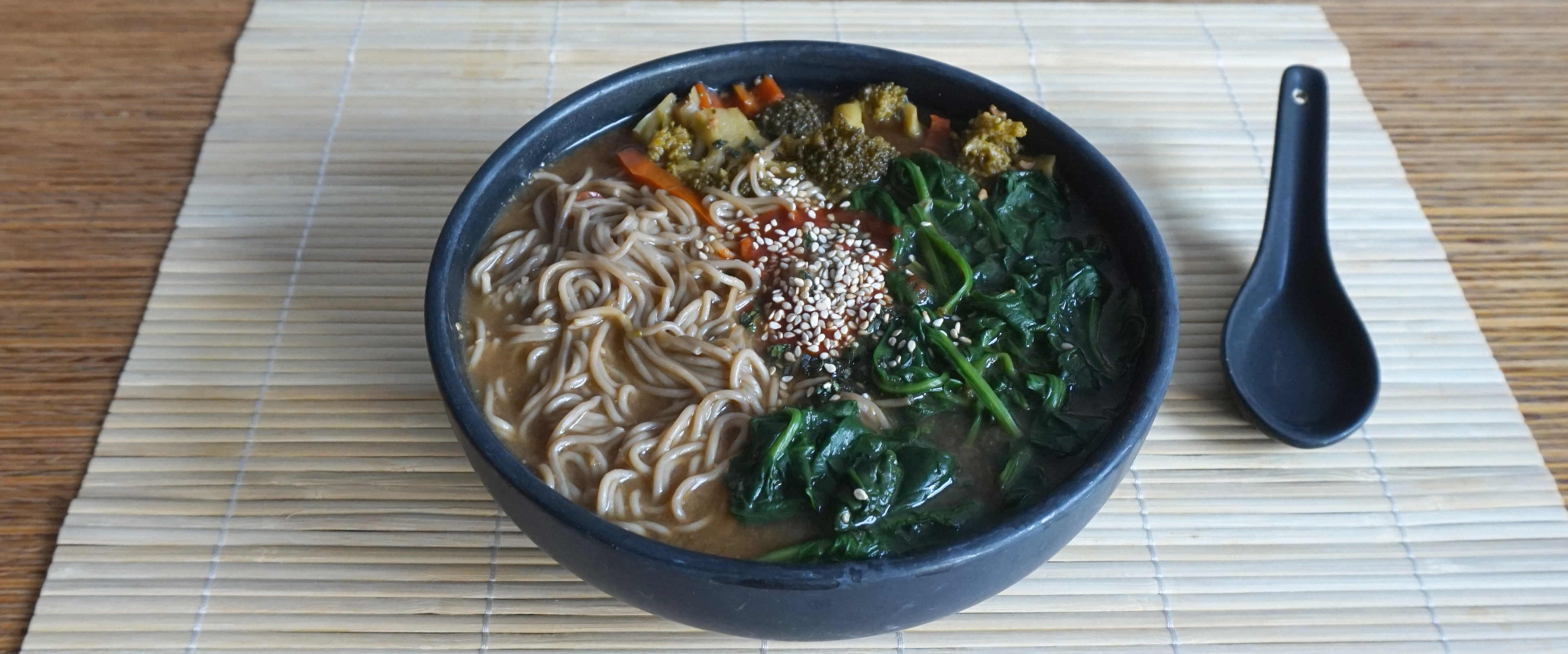 Chili Ginger Miso Ramen