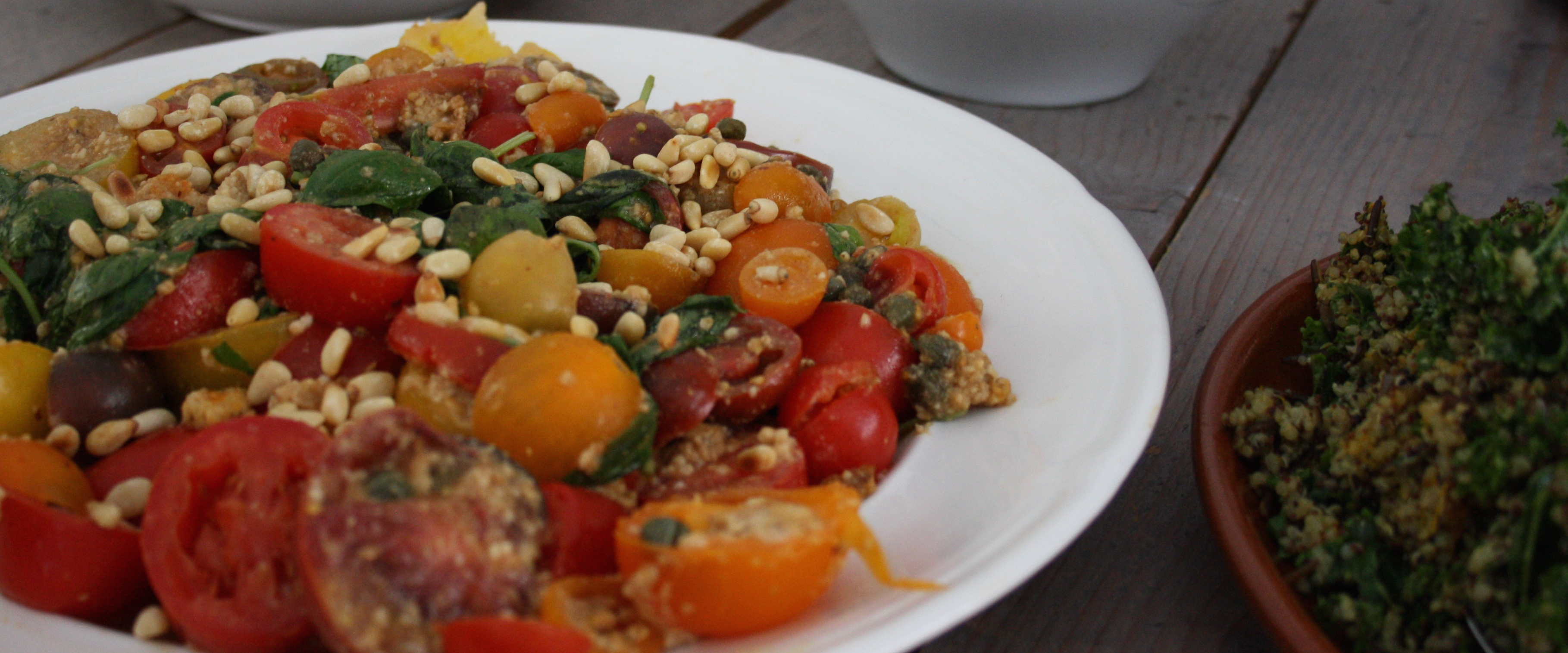 Tuscan Wild Tomato Panzanella